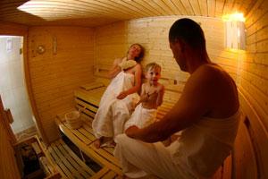 Sauna Srní